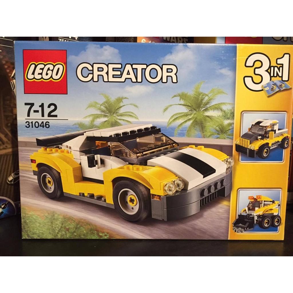 [想樂] 樂高Lego 31046 高速黃色汽車Fast Car