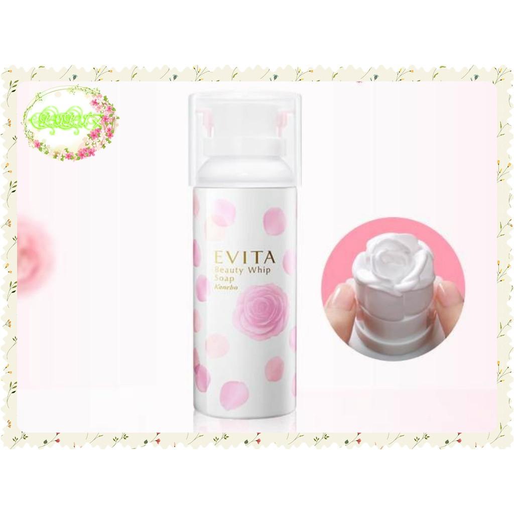 10 月初到貨~LILI 艾~ 佳麗寶Kanebo EVITA 3D 玫瑰 泡沫洗面乳~H