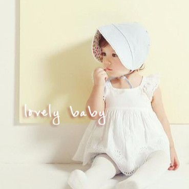 Lovelybaby ✨韓國粉嫩正反兩戴遮陽帽 帽可愛甜美女寶寶防曬~ ~JC M08