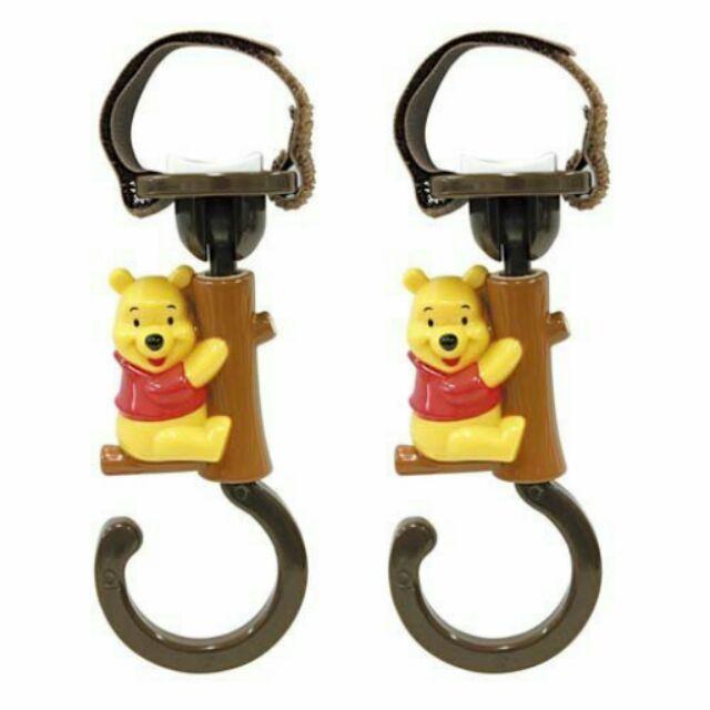 迪士尼Disney ~小熊維尼Winnie the pooh ~嬰兒車手推車車用掛勾