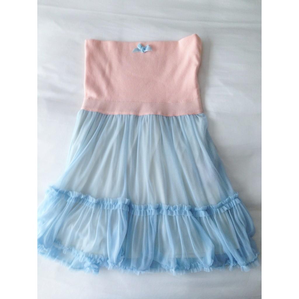 LABYRINTHE 可愛夢幻平口短洋裝
