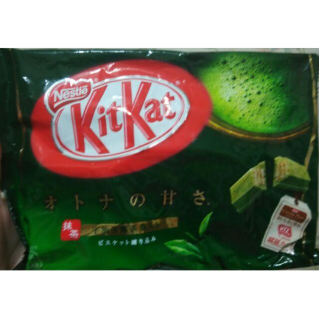 雀巢kitkat 抹茶巧克力餅乾12 入
