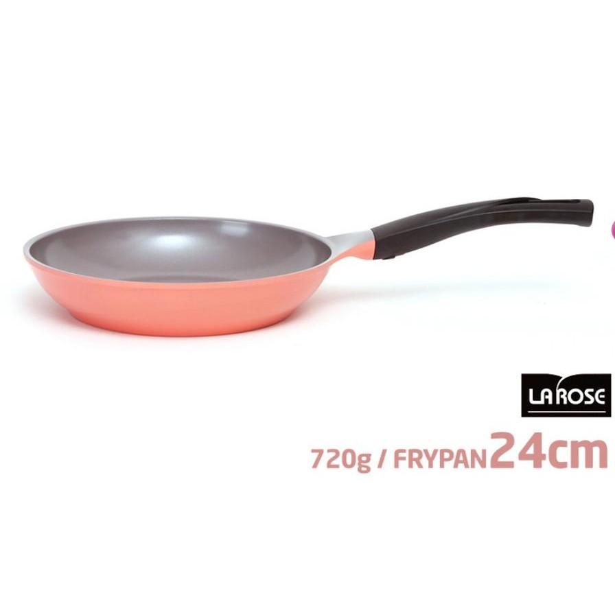 韓國CHEF TOPF La Rose 玫瑰鍋24cm 平底鍋煎鍋