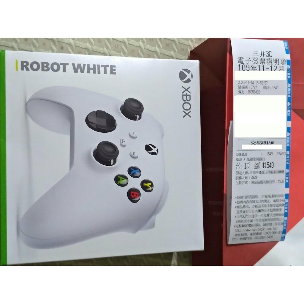 全新未拆 Xbox Series X 無線控制器 銀河白 XSX