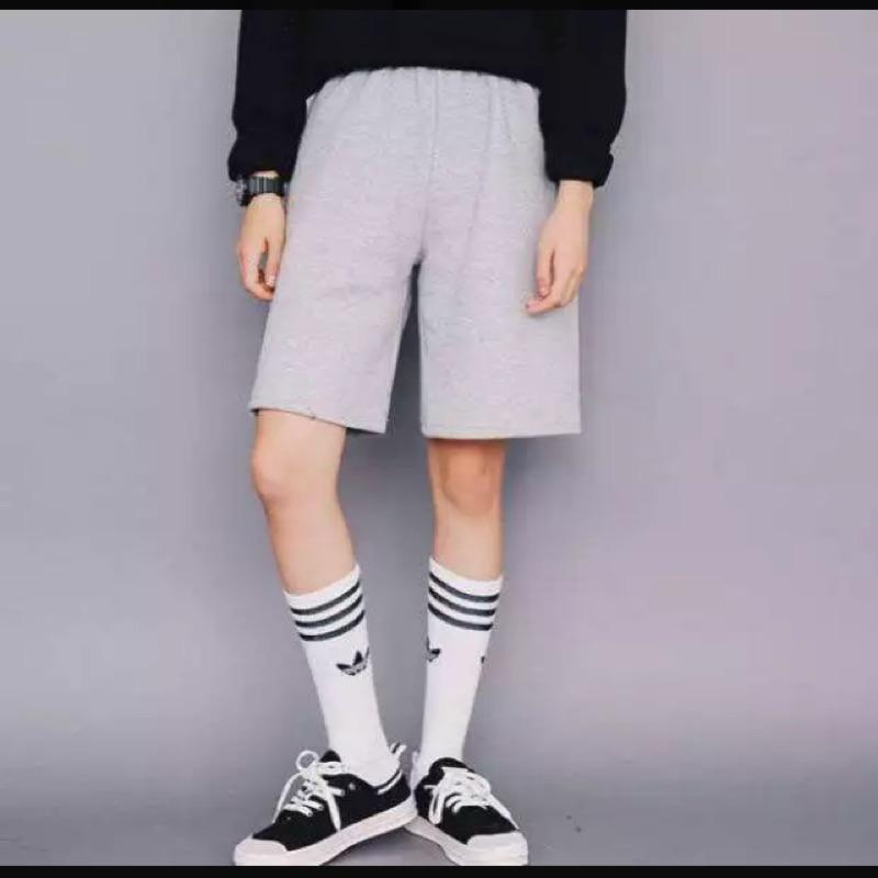 2016 春夏裝 原宿風寬鬆休閒短褲直筒闊腿褲五分褲
