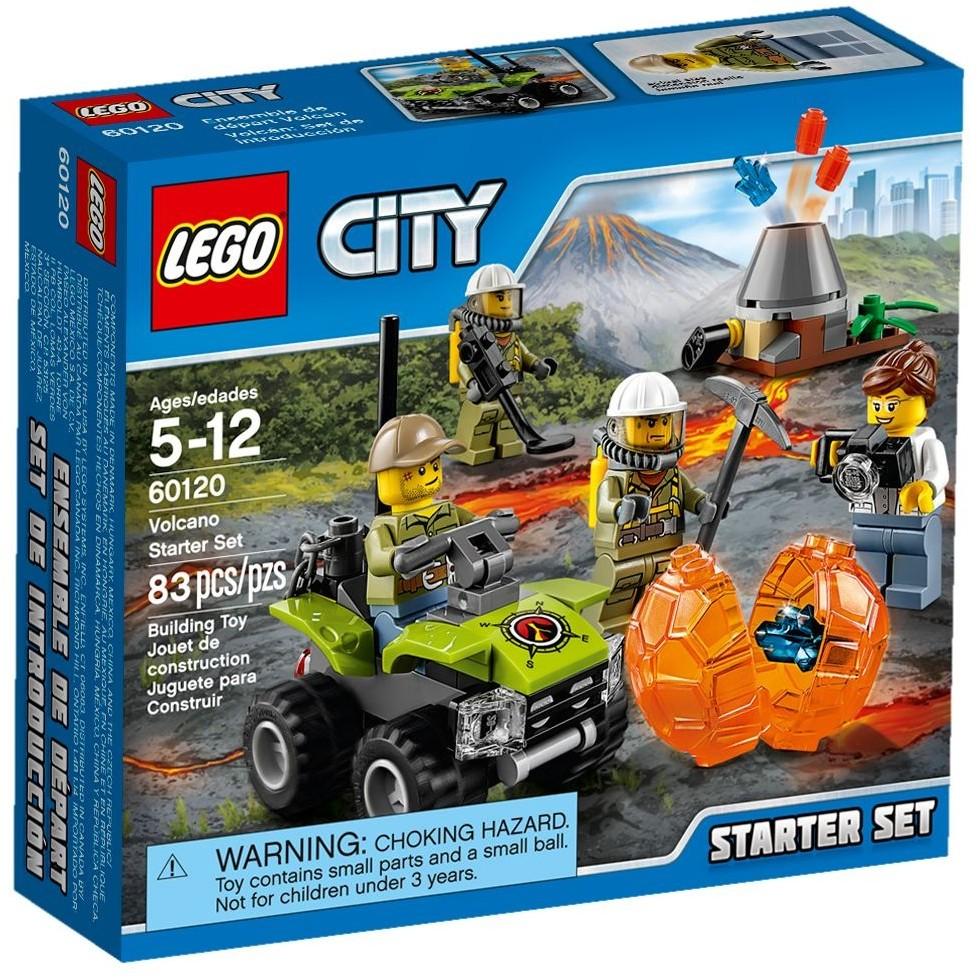 LEGO 樂高CITY 城市系列60120 火山基礎