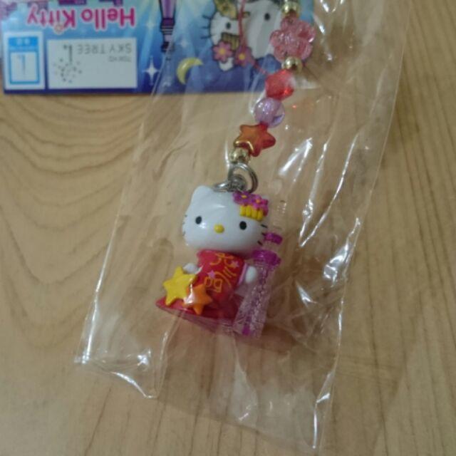 halumi7 Hello Kitty 東京晴空塔和服吊飾