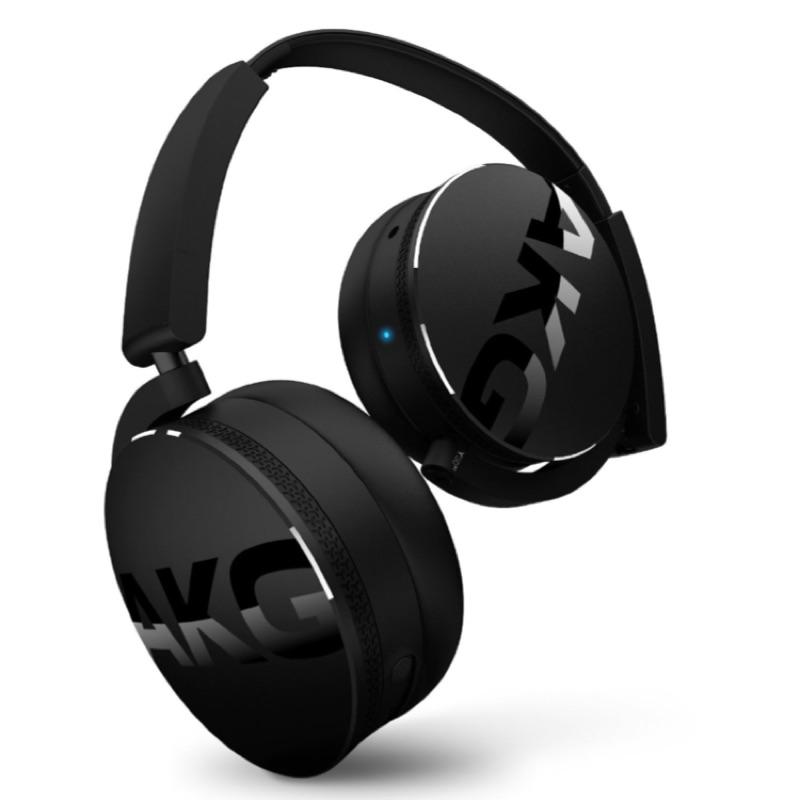 AKG Y50BT 黑色藍芽無線耳機耳罩式