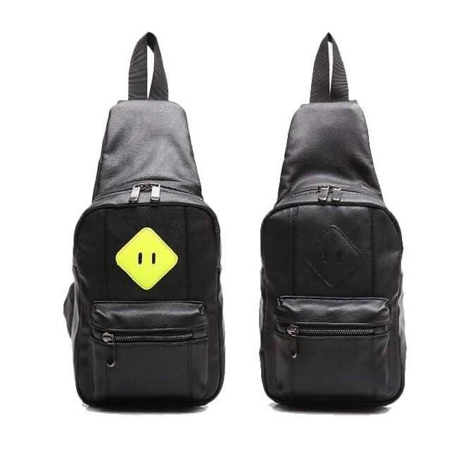 男包 潮PU 休閒腰包戶外多 胸包 挎包戶外側背腰包 包手拿包手機包1008