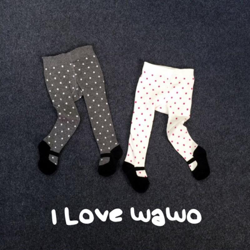兒童褲襪點點鞋子 2 色自留款超 保暖內搭