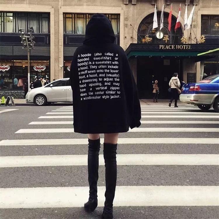 價▲CC 帽T ▲2017 韓國古著原宿寬松街拍套頭加絨衛衣男女外套 潮流 學生韓國東大門