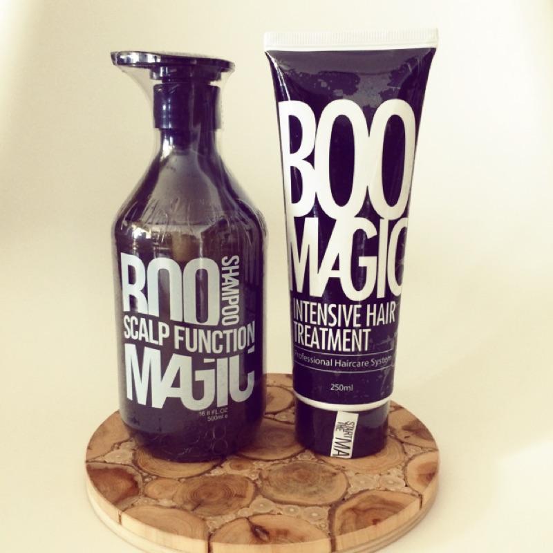 BooMagic 涼感洗髮精(只有左邊)