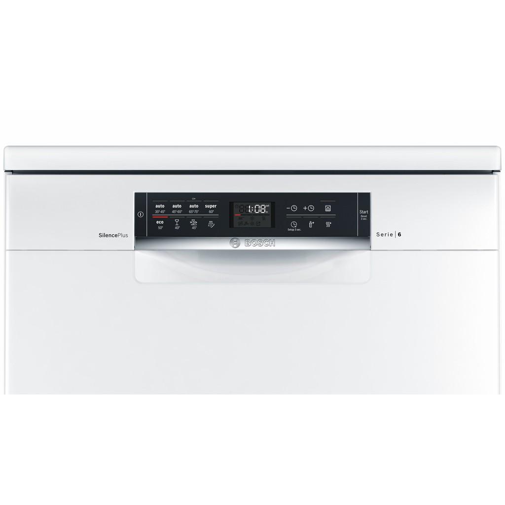 可刷卡贈洗劑【BOSCH】13人份獨立式洗碗機 SMS68IW00X
