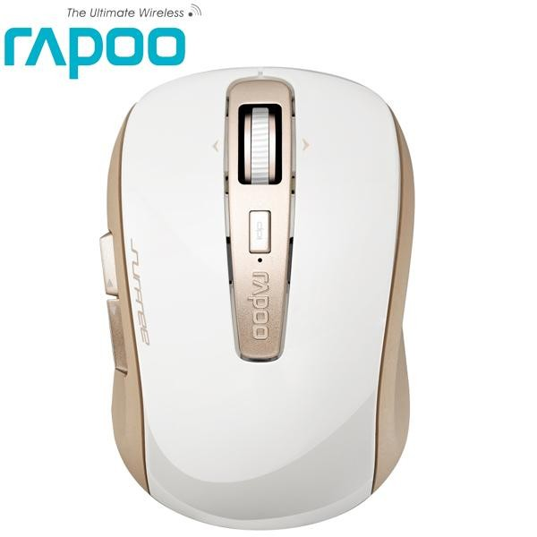 Rapoo 雷柏3920P 香檳金黑5G 無線雷射滑鼠