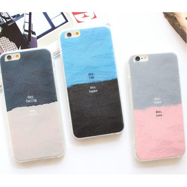 iphone se 手機殼韓國渲染拼色蠶絲紋手機殼iPhone 5 5s iPhone 6