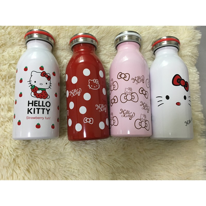 mosh 牛奶 不鏽鋼保溫保冷杯kitty 牛奶瓶 保溫瓶雙層真空 350ml