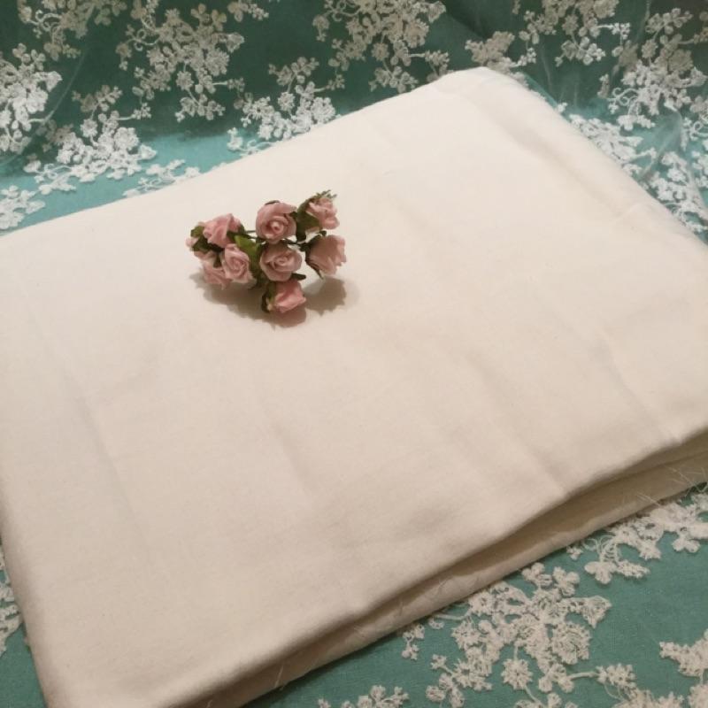 ~娜娜s 閣樓~純棉白色雙層紗布寶寶尿布口水巾50 150cm 115 元