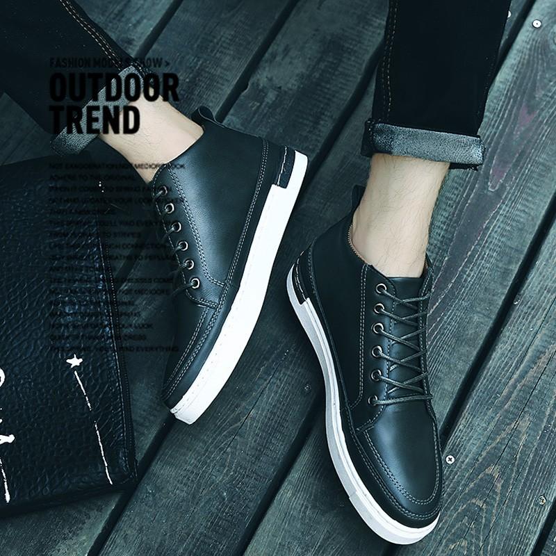 潮男 馬丁鞋 高幫鞋皮靴馬丁鞋 英倫 馬丁靴男潮流高幫鞋 鞋男鞋子短靴子皮靴軍靴