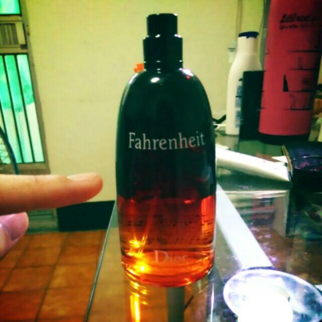 Dior Fahrenheit 迪奧華氏溫度男性淡香水50ml