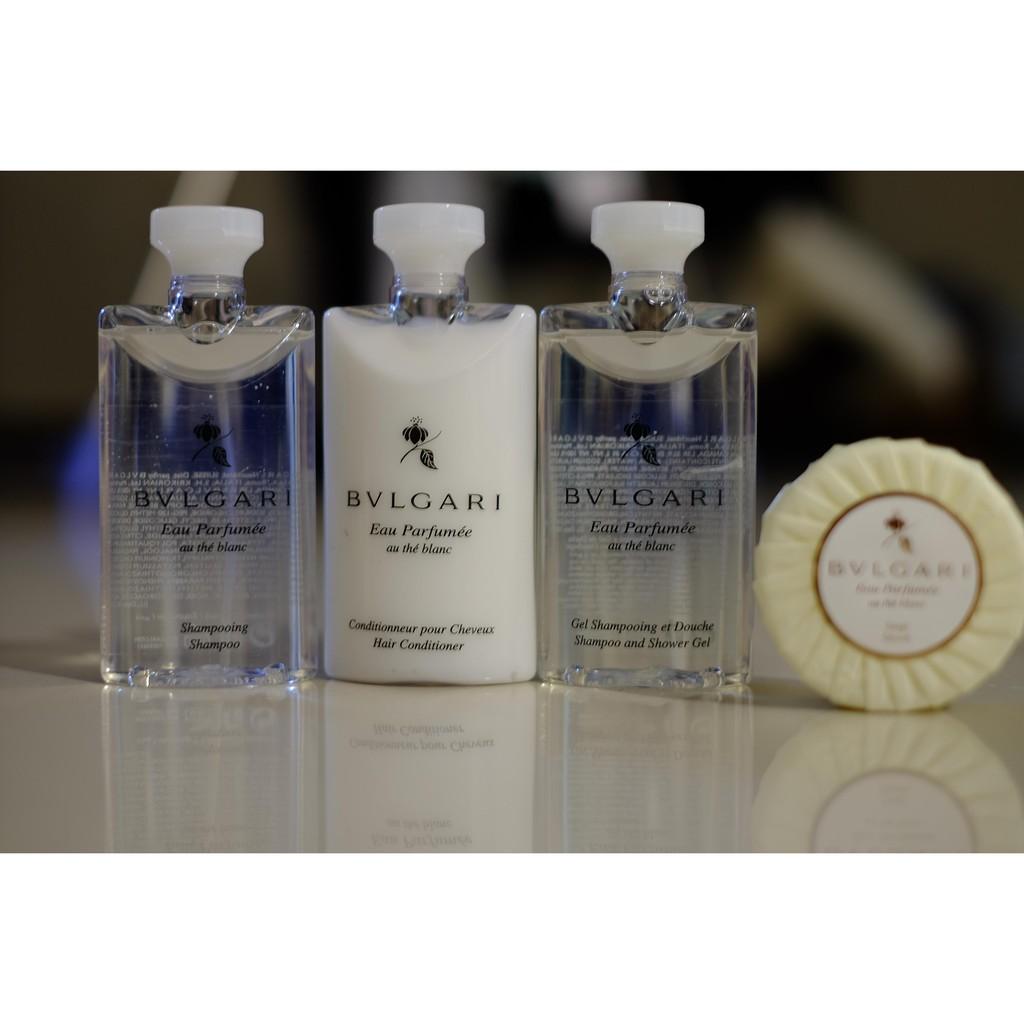 義大利BVLGARI 寶格麗Eau Parfumee 白茶系列~75 ml ~沐浴乳洗髮精