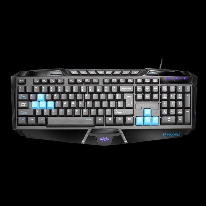 ~多元化~附發票FOXXRAY 颶風戰狐電競鍵盤FXR SK 02 支援射擊遊戲的左鍵三連
