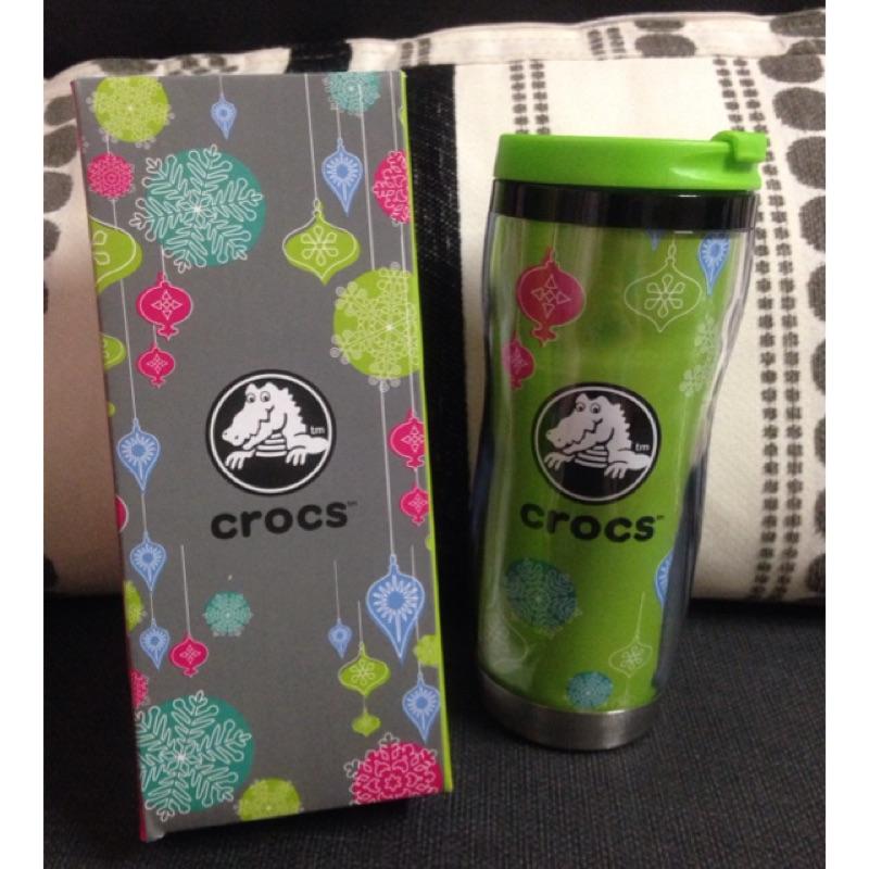Crocs 卡洛馳保溫杯保冰杯隨行杯咖啡杯防漏 水壺非星巴克