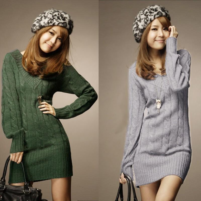 EA7 女士7 甜美V 領毛衣