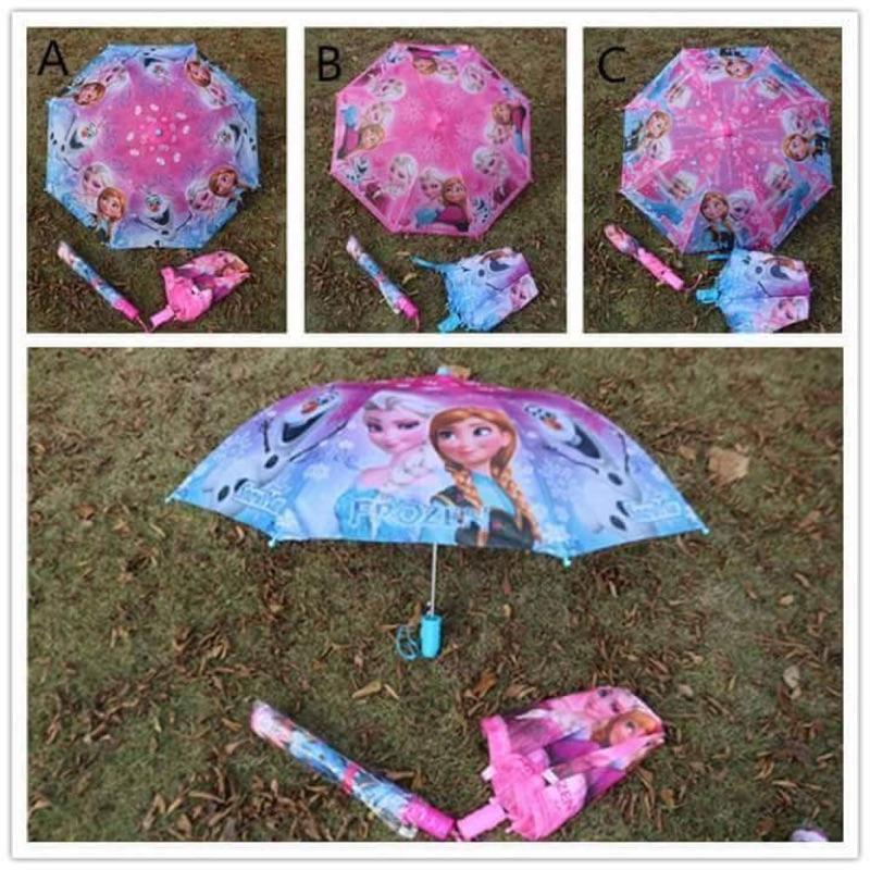 ~雙畇媽咪~~賣場滿599 元享7 11 超取~ 冰雪奇緣❄️兒童折疊雨傘