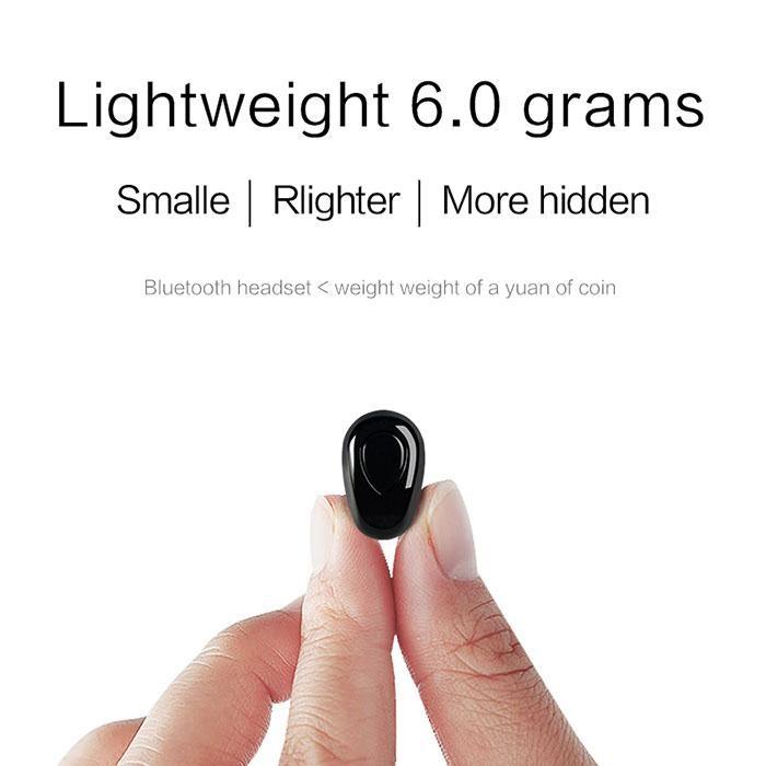 迷你入耳式立體聲藍牙V4 1 免提耳機iOS Android