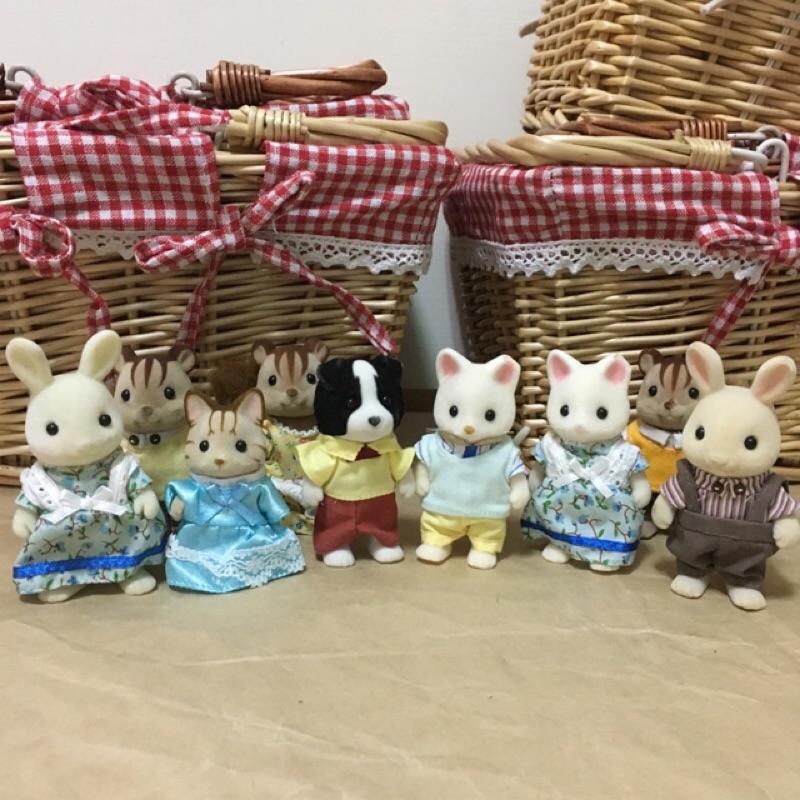 ❤️森林家族小動物(微瑕疵款)可配合木製娃娃屋或 組一起玩