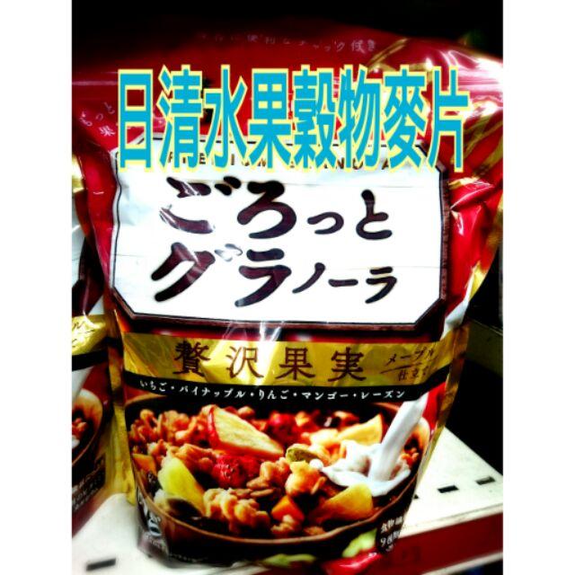 和味食舖日清水果穀物麥片500g 日清麥片日清穀片賞味期限2017 12 14