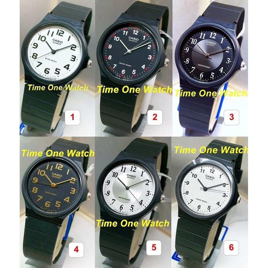 店面 貨日系_CASIO_ 卡西歐_ 指針型學生錶MQ 24_MW 59_MQ 24 1B