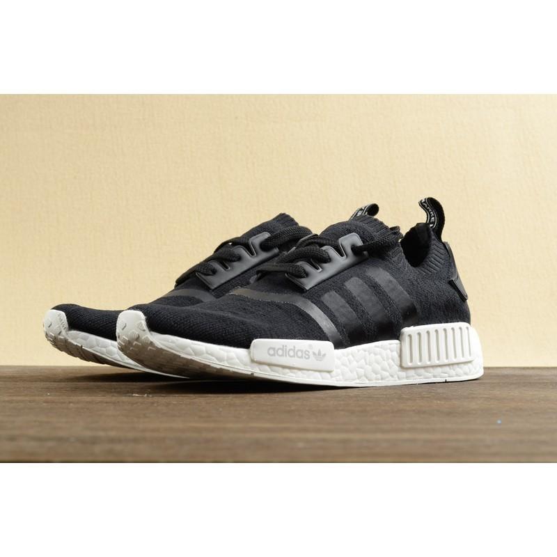 ~T 韓國 ~Adidas NMD Runner Boost 黑白跑鞋男鞋慢跑鞋余文樂劉德