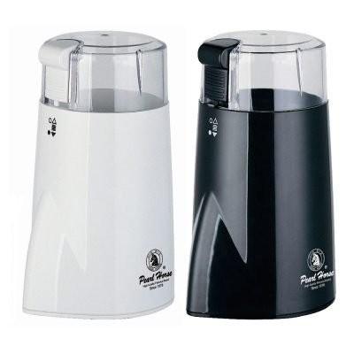 鉅咖啡寶馬牌咖啡電動磨豆機 版黑、白輕巧方便攜帶SHW 299 SHW 399 金屬外殼