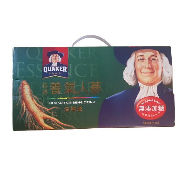 桂格 養氣人蔘 無糖 18入禮盒