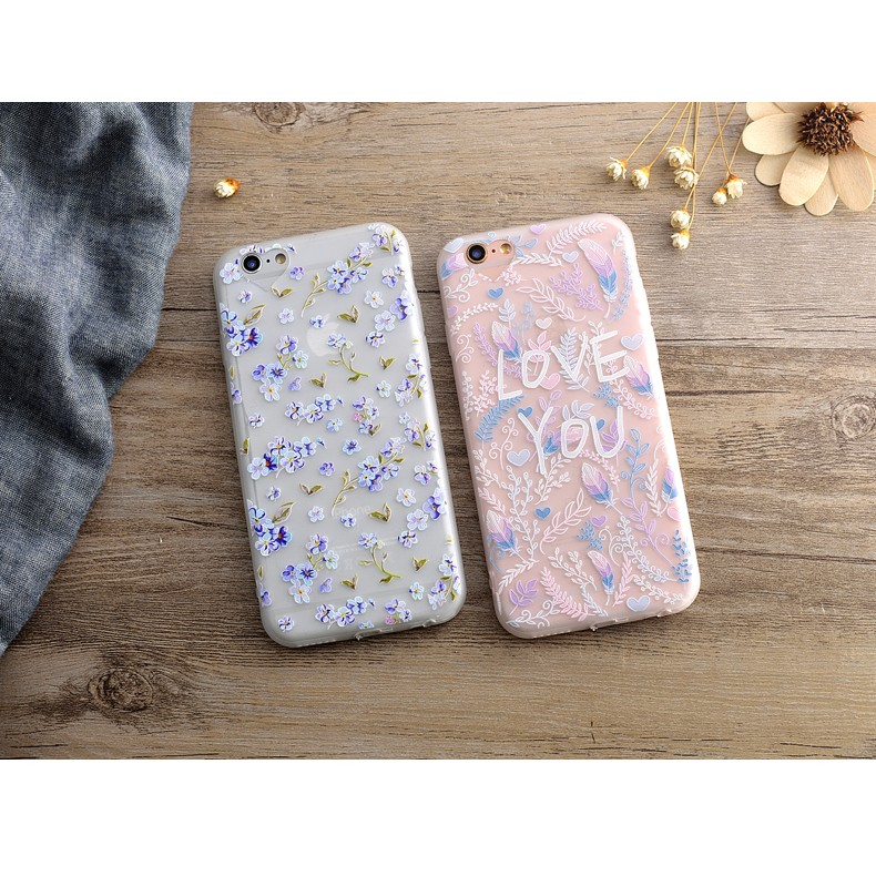 iphone6 6s 手機殼夏日清新花朵手機殼