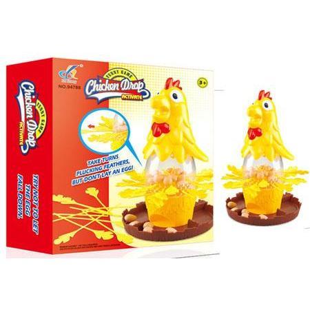 新品上架公雞拔毛不要讓它下蛋~抽抽樂~親子互動~過年玩具~下蛋玩具~益智~桌遊=~Two