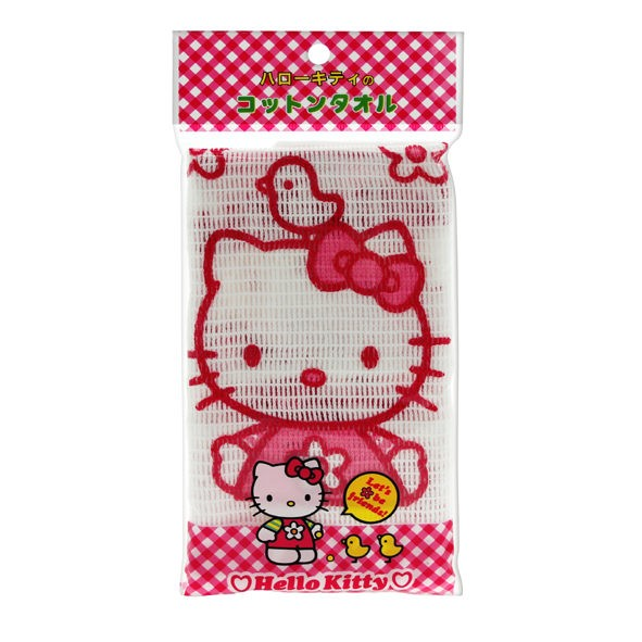 Hello Kitty 寶寶舒柔沐浴巾