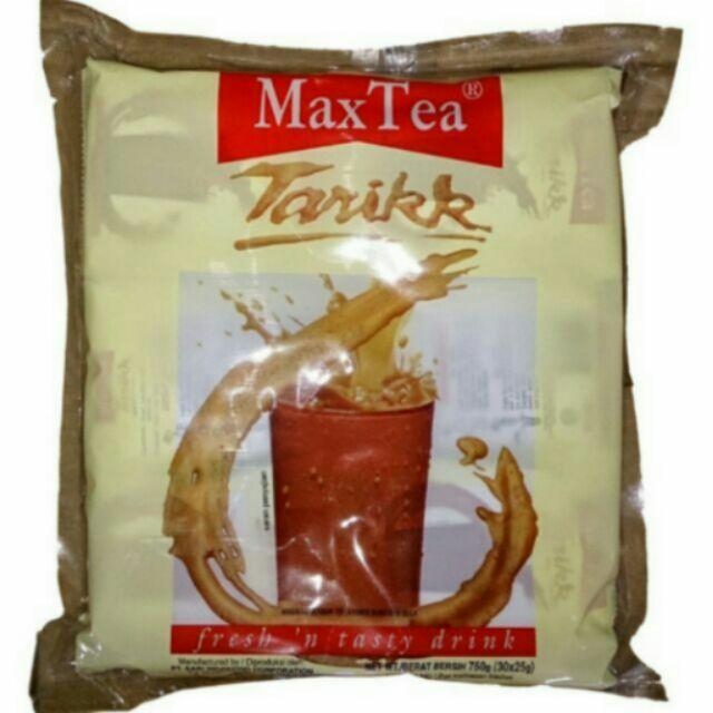 只剩最後一包,印尼拉茶MaxTea 30 包美詩泡泡奶茶