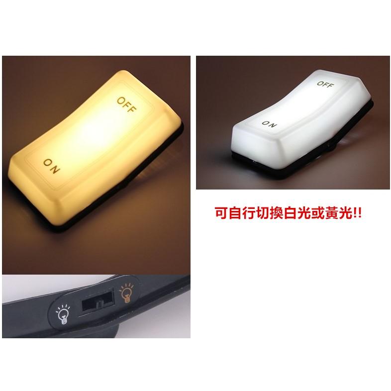 ON OFF 重力感應開關燈 床頭LED 小夜燈USB 充電護眼檯燈