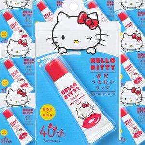 資生堂HELLO KITTY 限定版濃密護唇膏