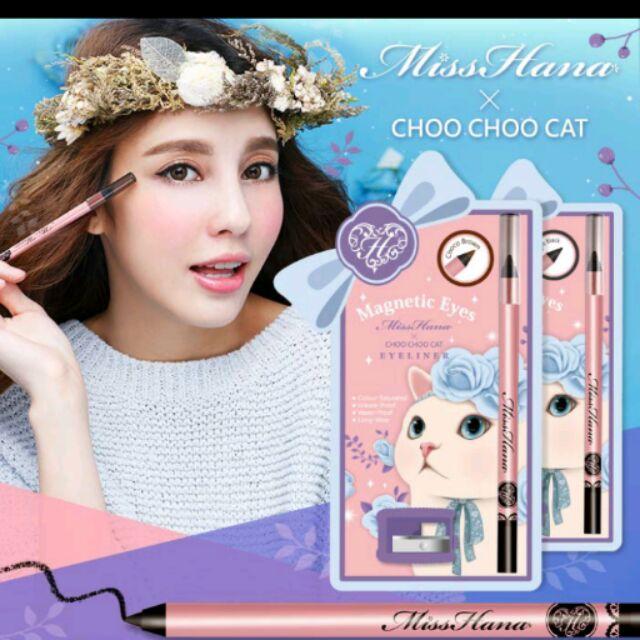 下殺!!⛤花娜小姐X CHOO CHOO CAT 抗暈染防水眼線膠筆1 3g ⛤