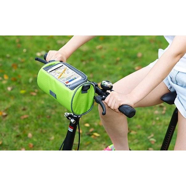 ~杰元 館~自行車車頭車把包單車騎行車前包腳踏車導航手機袋