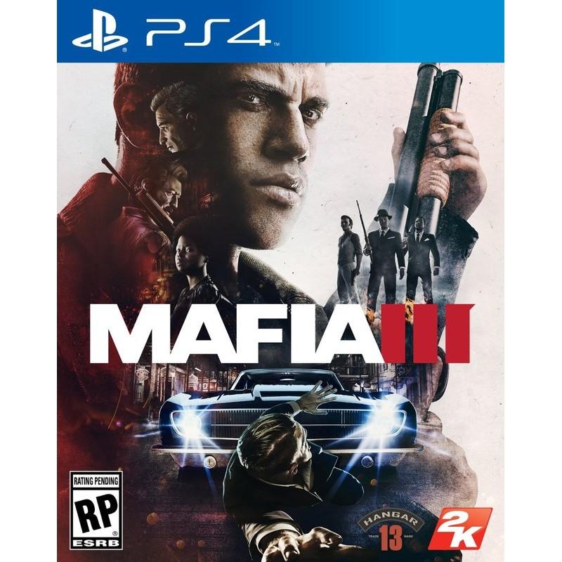 PS4  未拆Mafia III 四海兄弟3 中文版