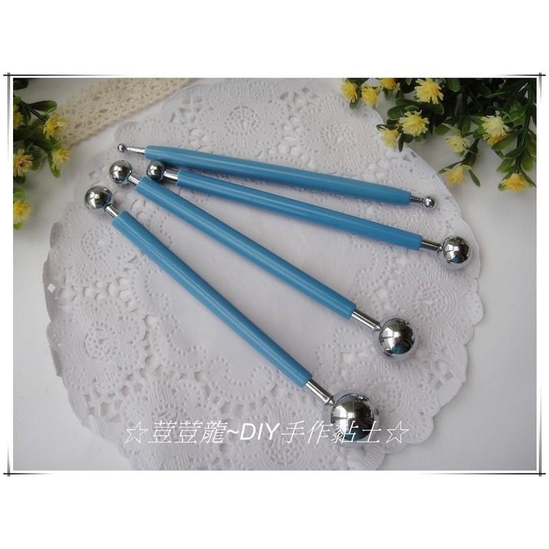 ~荳荳龍DIY 手作黏土~不鏽鋼丸棒金屬雙頭丸棒翻糖雕刻工具組