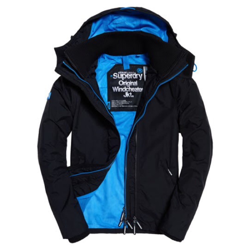 SUPERDRY 英國 POP ZIP HOODED TECHNICAL WINDCHEA