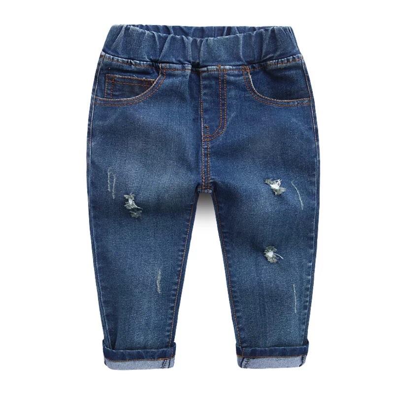 ( 款)超帥兒童 小破輕薄牛仔褲