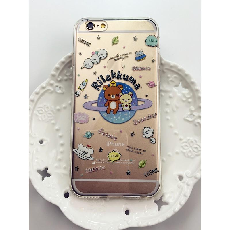 太空版懶懶熊~iPhone 5 SE 6 7 系列~~OPPO R9 系列~