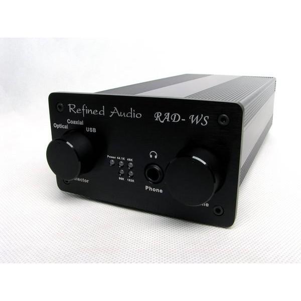 騰達電子RADWS 維凡德Refined Audio 耳機擴大機USB DAC 支援光纖同