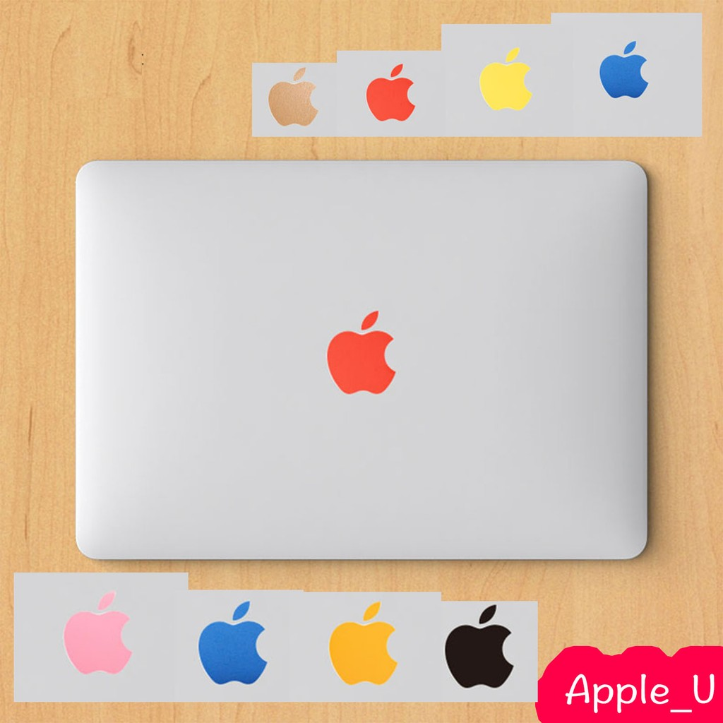 SkinAT Macbook 彩色Logo 貼紙貼膜Apple_U
